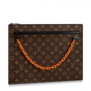 Louis Vuitton A4 Pouch Monogram Canvas M44484