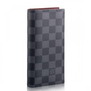 Louis Vuitton Alexandre Wallet Damier Graphite N64421