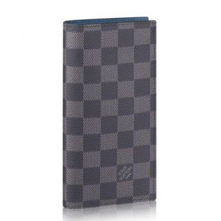 Louis Vuitton Alexandre Wallet Damier Graphite N64422