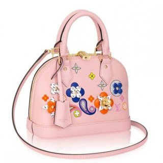 Louis Vuitton Alma BB Bag Epi Leather Flower M54986