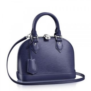 Louis Vuitton Alma BB Bag In Indigo Epi Leather M40855