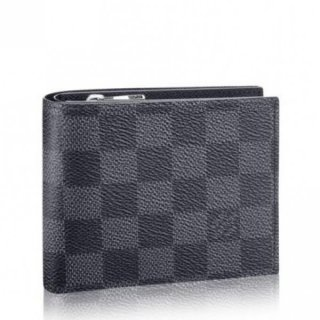 Louis Vuitton Amerigo Wallet Damier Graphite N41635