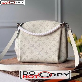 Louis Vuitton Babylone BB Chain Bag in Perforate Calfskin M51767 White