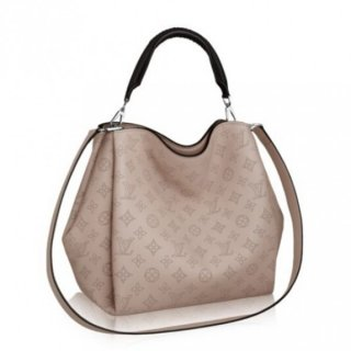 Louis Vuitton Babylone PM Bag Mahina Leather M50032