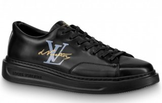 Louis Vuitton Black Beverly Hills Sneakers