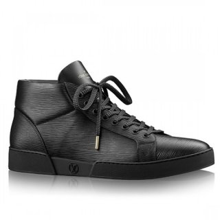Louis Vuitton Black Concorde Sneaker Boot