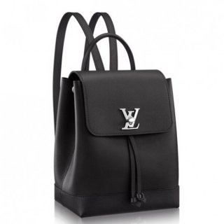 Louis Vuitton Black Lockme Backpack M41815