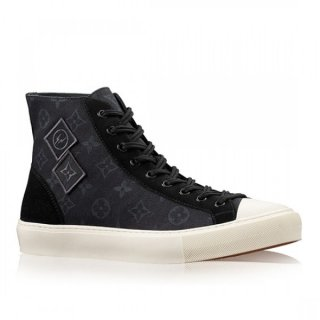 Louis Vuitton Black Tattoo Sneaker Boot