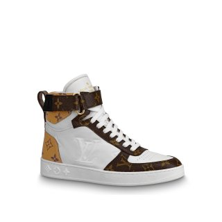 Louis Vuitton Boombox High-Top Sneaker Boot 1A5MWJ