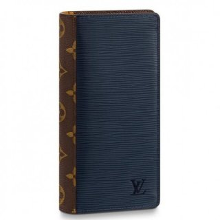 Louis Vuitton Brazza Wallet Epi Patchwork M62911
