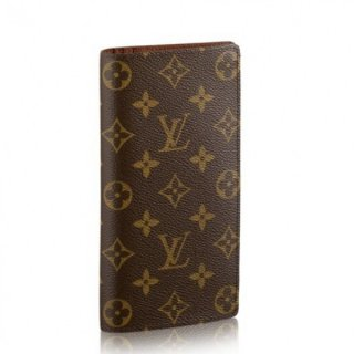 Louis Vuitton Brazza Wallet Monogram Canvas M66540