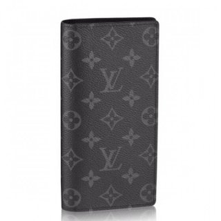 Louis Vuitton Brazza Wallet Monogram Eclipse M61697