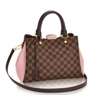 Louis Vuitton Brittany Bag Damier Ebene N41674