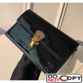 Louis Vuitton Cherrywood WOC Chain Wallet M63305 Black