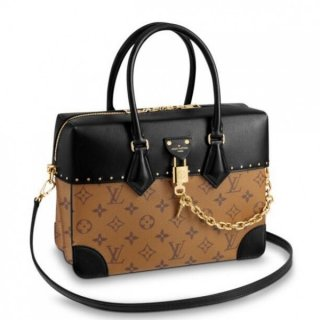 Louis Vuitton City Malle MM Bag Monogram Reverse M43595