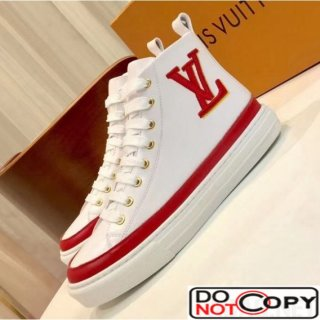 Louis Vuitton Clafskin Stellar High top Sneaker