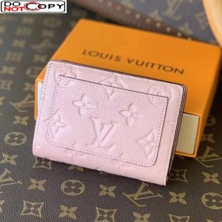Louis Vuitton Clea Wallet in Monogram Leather M80151 Pink