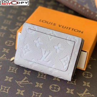 Louis Vuitton Clea Wallet in Monogram Leather M80152 Light Grey