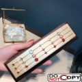 Louis Vuitton Color Blossom Bracelet Yellow Gold Red Mother Of Pearl