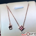 Louis Vuitton Color Blossom Star Necklace Pink Gold Pink Mother Of Pearl