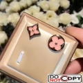Louis Vuitton Color Blossom Sun Star Earring Stud Pink Gold Pink Mother Of Pearl