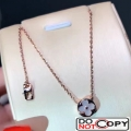 Louis Vuitton Color Blossom Sun Necklace Pink Gold White Mother Of Pearl