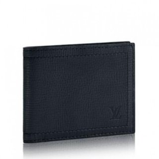 Louis Vuitton Compact Wallet Utah Leather M64135