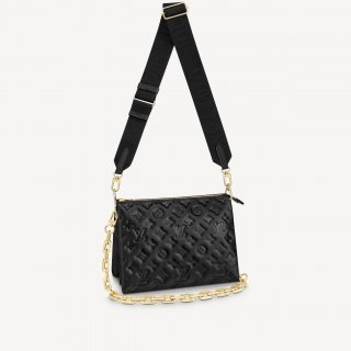 Louis Vuitton Coussin PM Bag in Monogram Leather M57790 Black