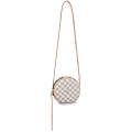 Louis Vuitton Damier Azur BOiTE CHAPEAU SOUPLE Small Bag N40333 White