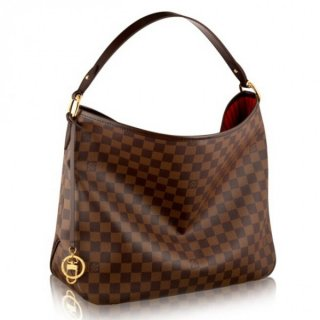 Louis Vuitton Delightful MM Bag Damier Ebene N41460