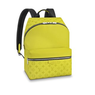 Louis Vuitton Discovery Monogram Leather Backpack PM M30228 Yellow