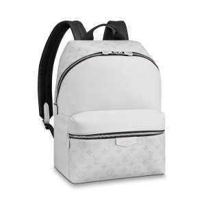 Louis Vuitton Discovery Monogram Leather Backpack PM M30232 White