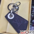 Louis Vuitton Enchppes Key Holder Monogram Eclipse and Leather MP1795