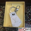 Louis Vuitton Enchppes Key Holder White Monogram Canvas and Leather