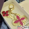 Louis Vuitton Epi Flower Bag Charm M61013 Red Gold