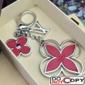 Louis Vuitton Epi Flower Bag Charm M61013 Red Silver