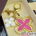 Louis Vuitton Epi Flower Bag Charm M61013 Rosy Gold