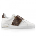 Louis Vuitton Frontrow Sneaker In Leather And Monogram