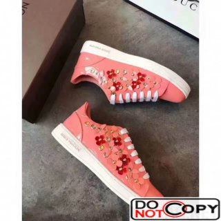 Louis Vuitton Frontrow Sneaker Patent Pink