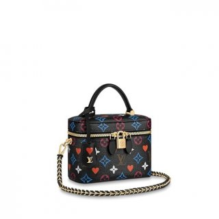 Louis Vuitton Game On Vanity Case PM Bag in Black Monogram Canvas M57482