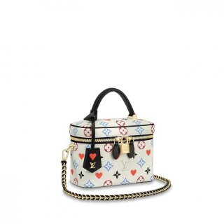 Louis Vuitton Game On Vanity Case PM Bag in White Monogram Canvas M57458