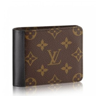 Louis Vuitton Gaspar Wallet Monogram Macassar M93801