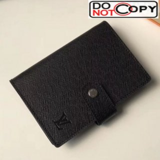 Louis Vuitton Grained Leather Small Ring Agenda Book Cover R20426 03