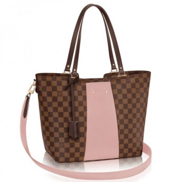 Louis Vuitton Jersey Bag Damier Ebene N44041