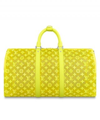Louis Vuitton Keepall Bandouliere 50 M55380 Yellow