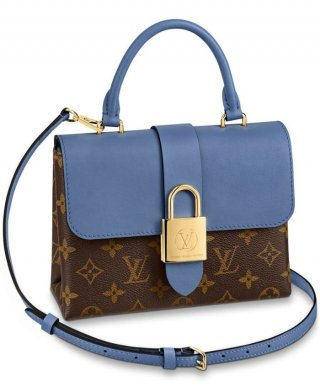 Louis Vuitton Locky BB bag M44321 blue