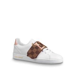 Louis Vuitton LV Damier Canvas Low top Frontrow Sneakers 1A5N53