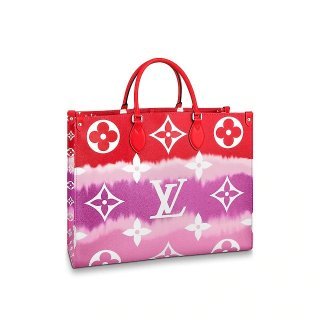 Louis Vuitton LV Escale Onthego Monogram Canvas Large Tote M45121 Red