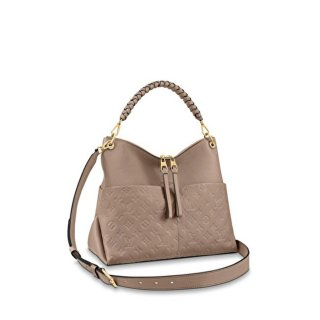 Louis Vuitton Maida Hobo Bag in Beige Monogram Leather M45522