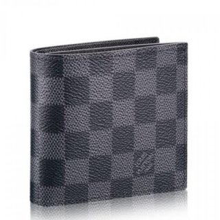 Louis Vuitton Marco Wallet Damier Graphite N63336